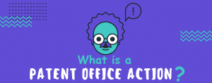 What is patent office action response
